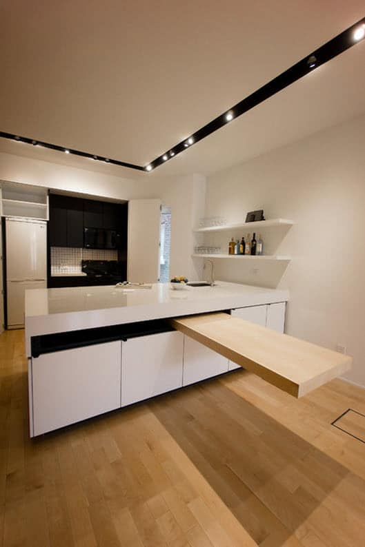 Dise o de cocina con isla flotante construye hogar for Diseno islas de cocina