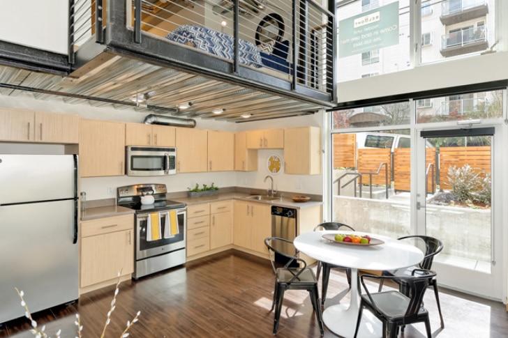 Dise o de cocina de departamento peque o construye hogar for Diseno departamento pequeno