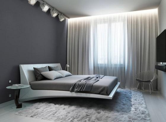 Diseño de dormitorio ultra moderno