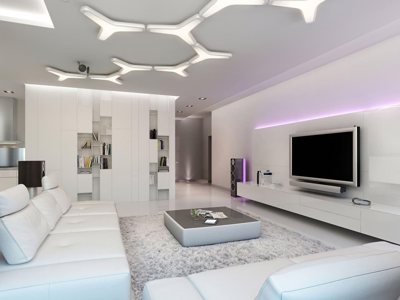 Decoracion Baños Living:Decoracion De Interiores Salas Modernas