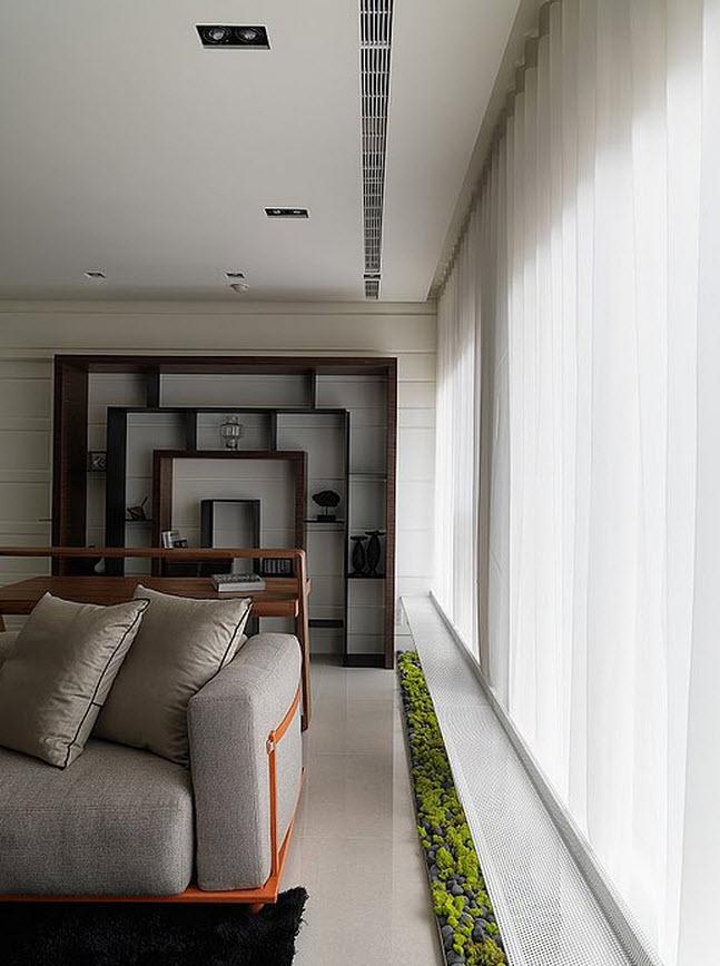 Sala de estar en una casa