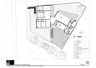 Plano de casa de un piso