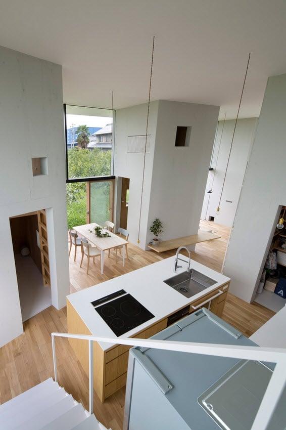 Dise o de casa estilo japon s con planos construye hogar - Cocinas para pisos pequenos ...
