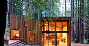 Diseño de casa de campo de madera