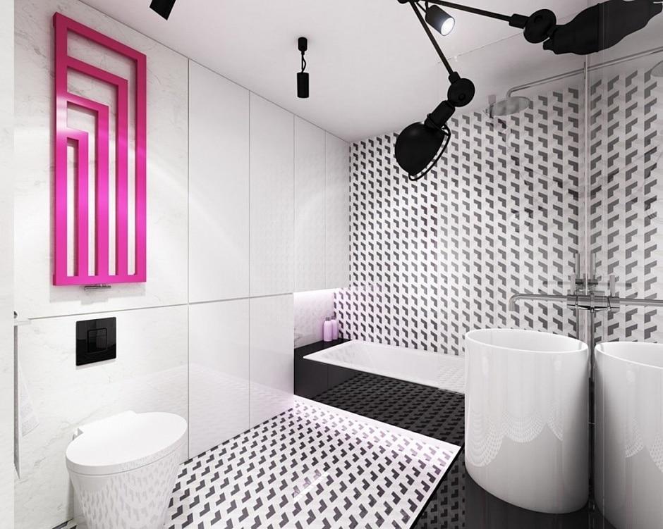 Planos de departamento peque o y cuadrado construye hogar - Dormitorio en blanco y negro ...