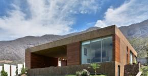 Diseño de fachada de casa cuadrada