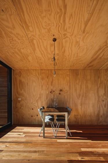 Diseño de pequeño comedor de casa de campo