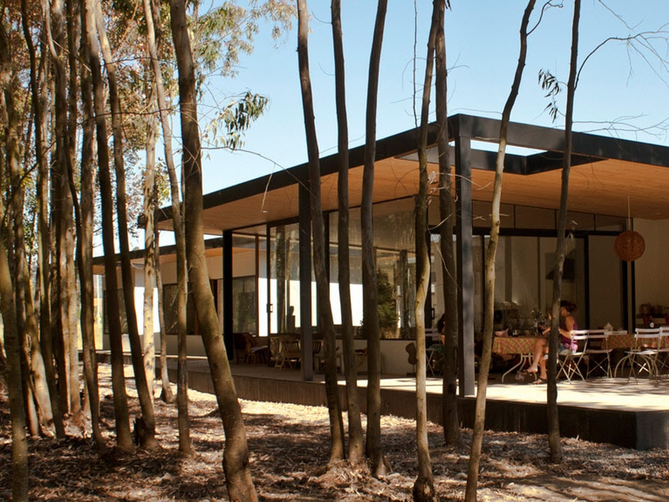 Dise o de terraza de casa de campo construye hogar - Terraza casa de campo ...
