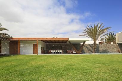 Diseño de terraza de casa de playa 2