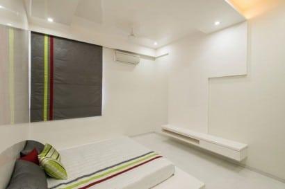 Diseño sencillo de dormitorio