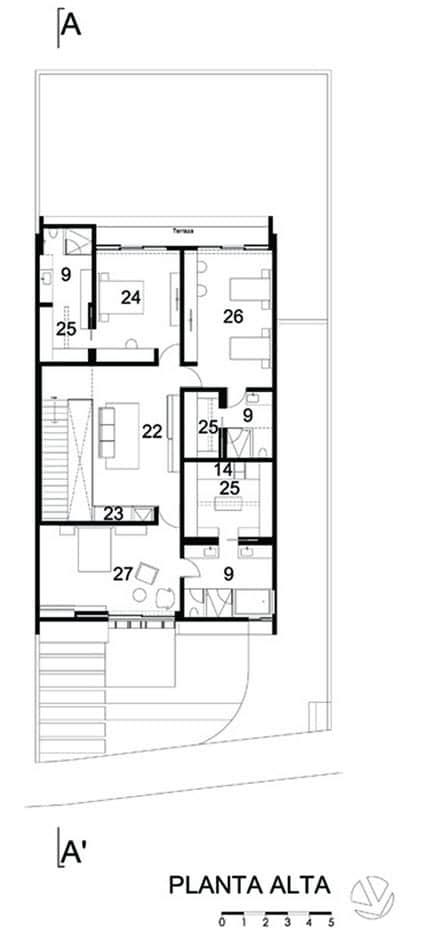 Dise o de planos de casa de dos plantas construye hogar for Planos para segundo piso