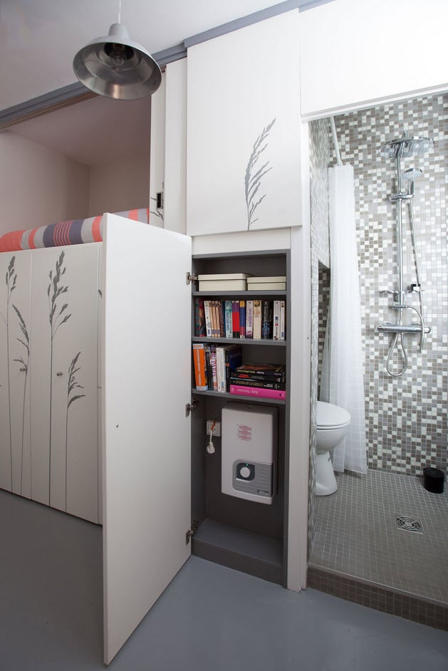 Dise o de departamento muy peque o planos construye hogar for Departamentos muy pequenos
