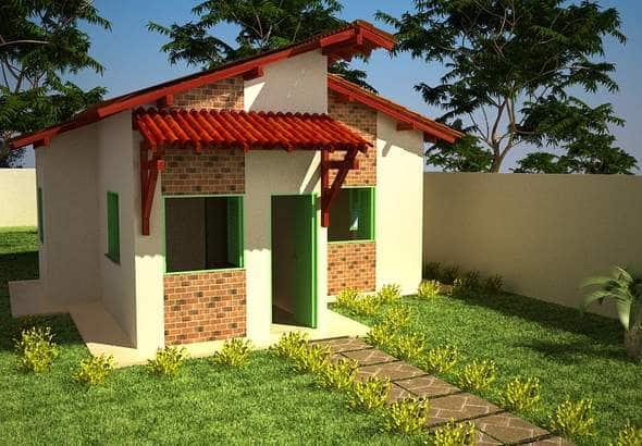 Planos de caba as de campo peque as construye hogar for Casas con piscina baratas barcelona