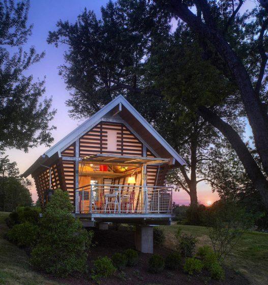 Diseño de casa muy pequeña de campo