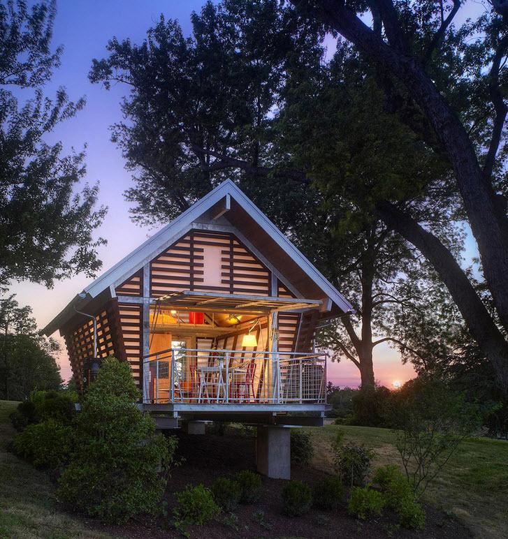 Dise o de casa muy peque a de campo construye hogar - Planos de casas pequenas de campo ...