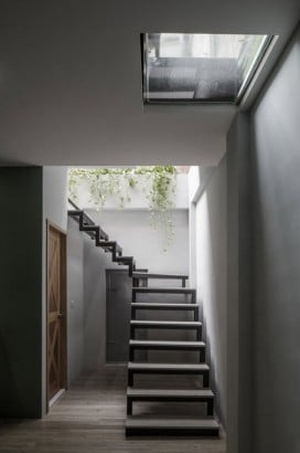 Diseño de escaleras de patio