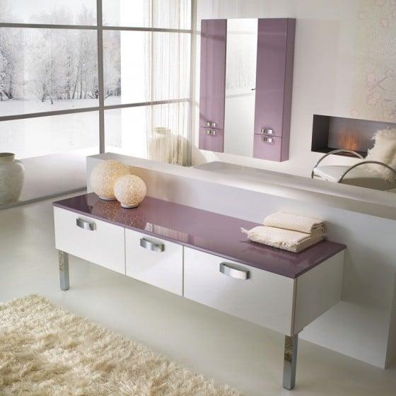 Diseño de mesa para cuarto de baño