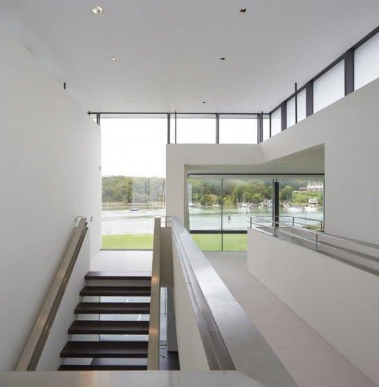 Diseño de pasadizos y escaleras