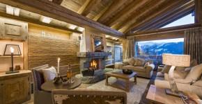 decoracin rstica de casa de campo construida en madera sorprndete del equilibrado diseo de interiores rstico y moderno diseo de cocina