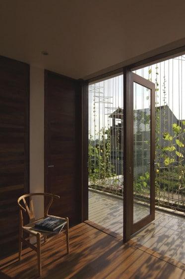 Diseño de salida a terraza