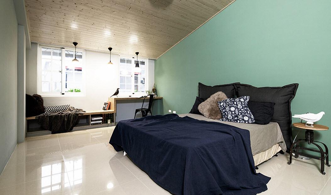 Planos de casa angosta y larga de tres dormitorios Diseno de interiores para cuartos