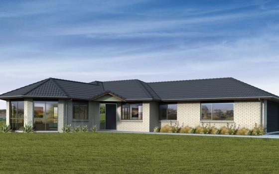 Casas de un piso y tres dormitorios construye hogar for Fachadas de casas de un piso
