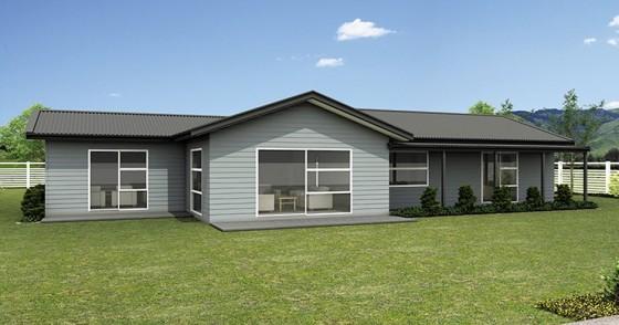 Casas de un piso y tres dormitorios construye hogar - Casa de una planta ...