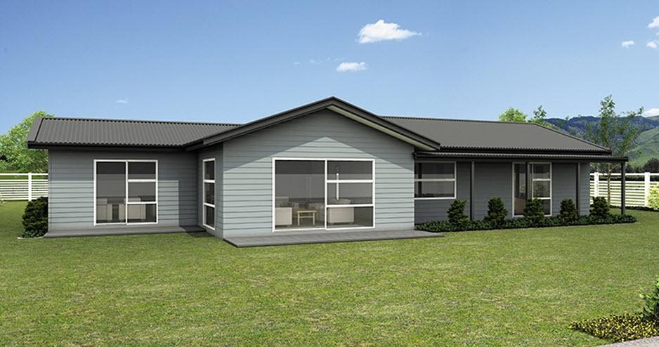 Casas de un piso y tres dormitorios construye hogar for Modelos de casas de campo de una planta
