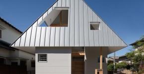 diseo de casa pequea de dos plantas estilo oriental construccin de techo a dos aguas te inspirara