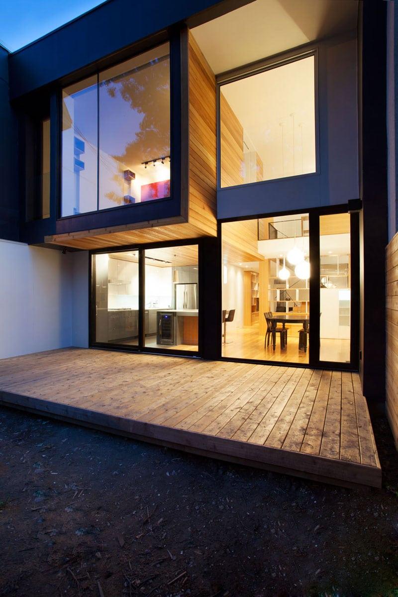 Remodelaci n de casa peque a de dos plantas construye hogar for Disenos de casas de dos plantas
