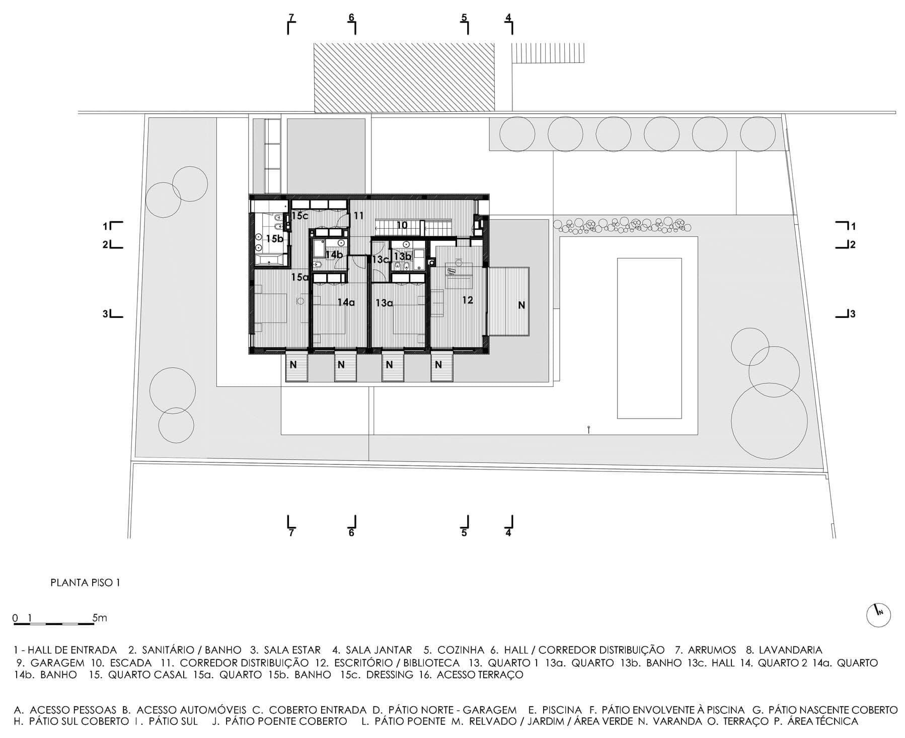 Planos De Casa Con Piscina Tres Dormitorios Construye Hogar