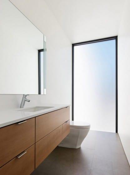 Diseño cuarto de baño minimalista