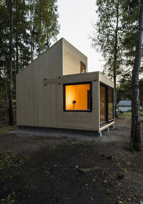 Flat Roof Design Modern Exterior