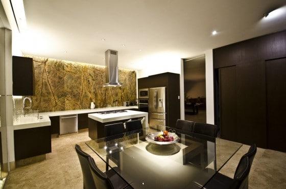 Diseño de cocina moderna y elegante