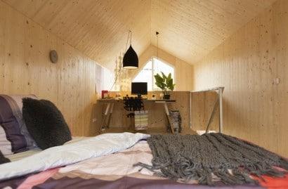 Diseño de dormitorios casa prefabricada