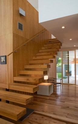 Diseño de escalera Jacob Termansen Photography