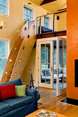Diseño de escaleras para cuarto de niños