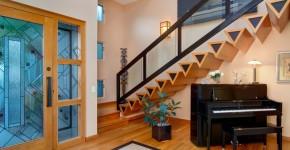 Diseño novedoso de escaleras modernas