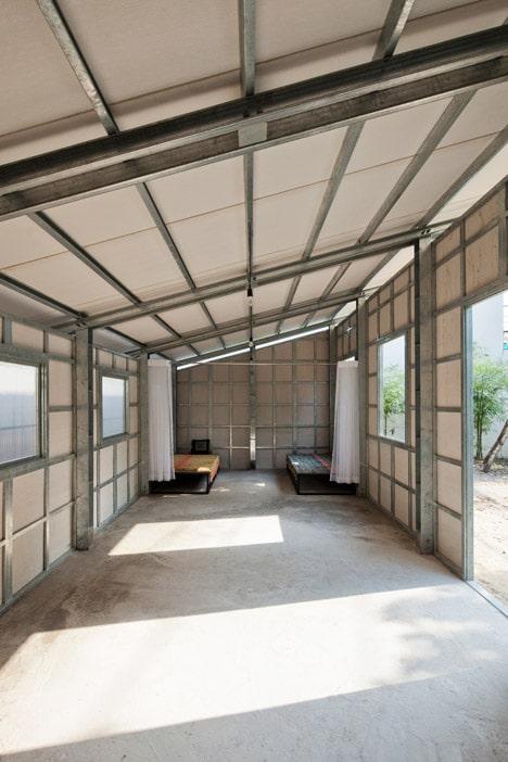 Dise o de casa econ mica antis smica construye hogar - Estructuras de acero para casas ...