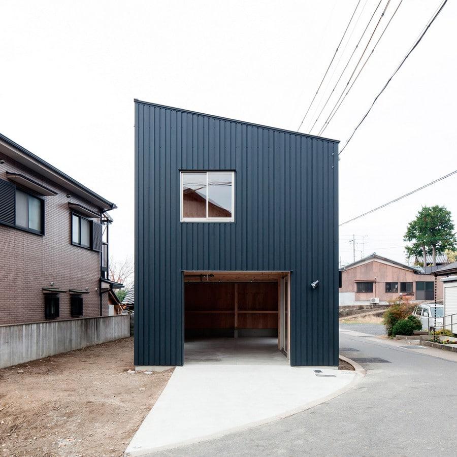 Planos de casa econ mica de dos pisos construye hogar for Japanese minimalist small house design