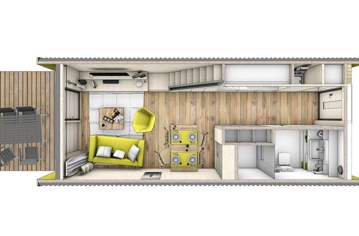 Diseo De Casa Prefabricada Con Planos Construye Hogar