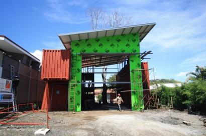 Construcción de casa con contenedores reciclados 002