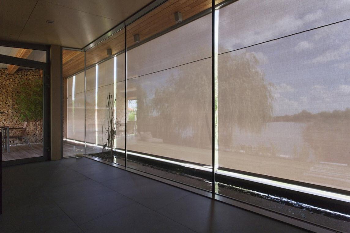 cortinas para proteccin de sol en cabaas