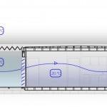 Diagrama de ventilación de casa autosuficiente