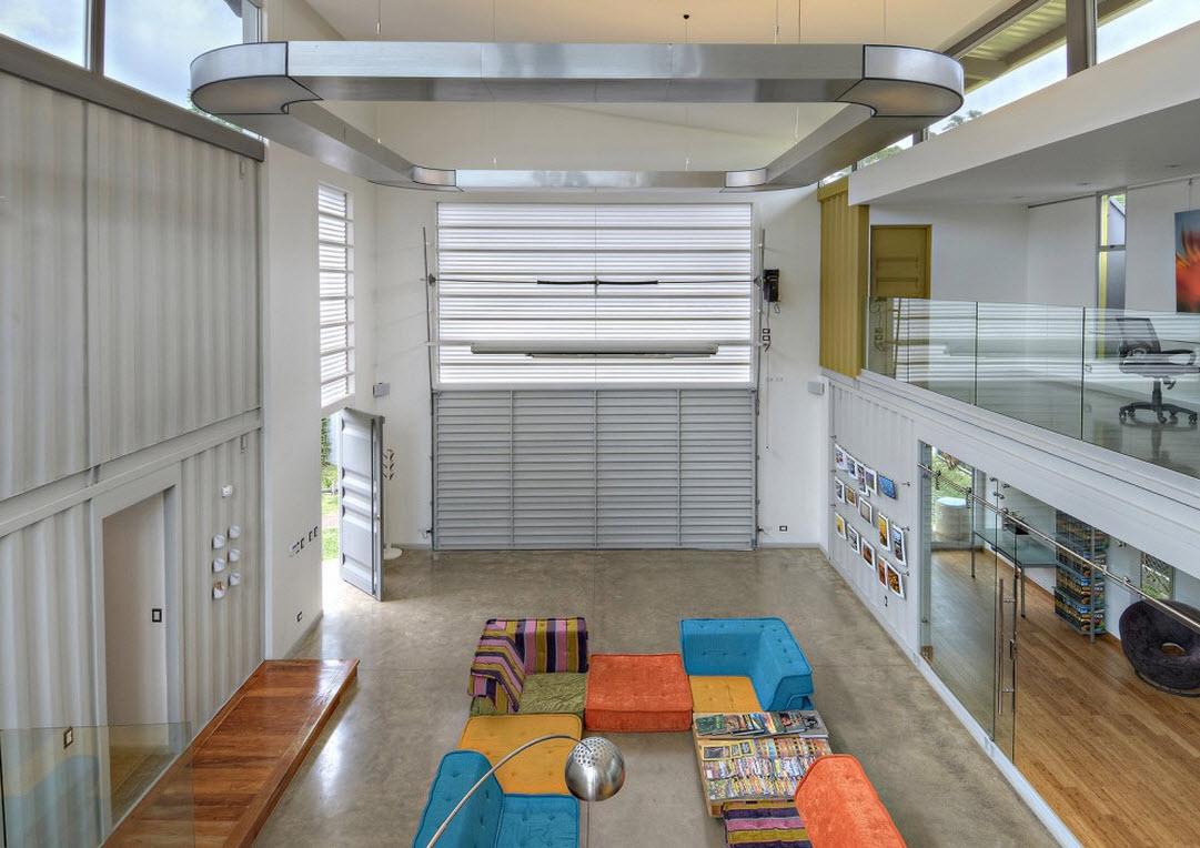 Planos y construcci n de casa contenedor construye hogar for Container en