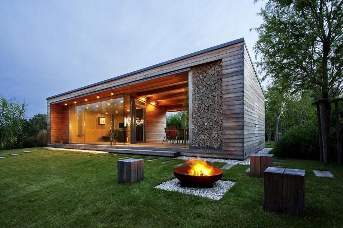 dise o de peque a caba a de madera planos construye hogar