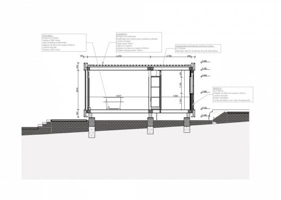 Materiales de construcción de casa ecológica 002