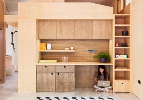 Diseño de estante ecológico