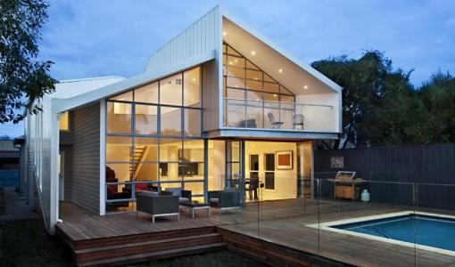 Remodelar casas construye hogar for Casa moderna a dos aguas