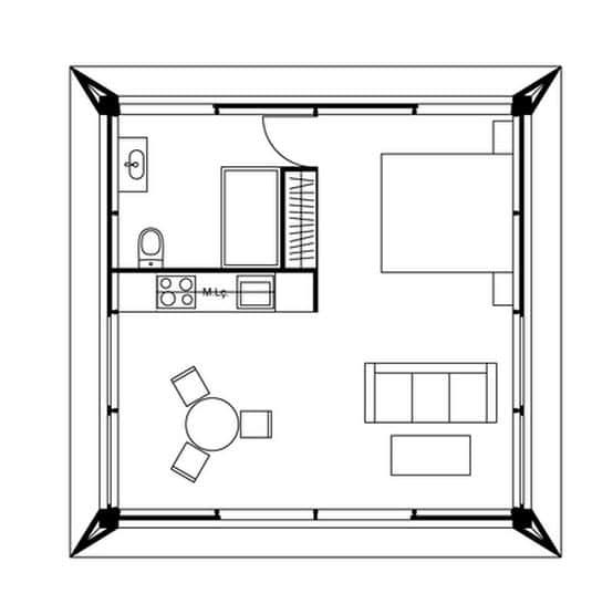 dise o de casas peque as planos construye hogar